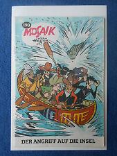 MOSAIK EXPORTHEFT Digedags Hannes Hegen Nr. 190 DDR Comic 1972 EXPORT