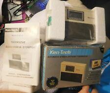 Vintage NOS rare Ken-tech Et-22 automatic micro electronic thermostat,program