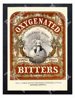 Historic Boston. Oxygenated Bitters Advertising Postcard