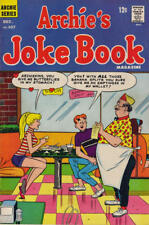 ARCHIE'S JOKE BOOK #107 F, BETTY, VERONICA, Stains F/C & B/C, Archie Comics 1966