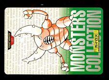 POKEMON BANDAI 1996 GREEN MONSTERS COLLECTION N°  127 PINSIR SCARABRUTE