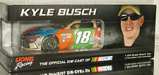 2016 KYLE BUSCH #18 M&M'S AUTOGRAPHED FLASHCOAT 1/24 CAR#66 OF 96 MAKE OFFER