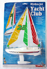 Rare Vintage 90'S Hydro Jet Yacht Club Sailboat B/O Simba New Sealed !