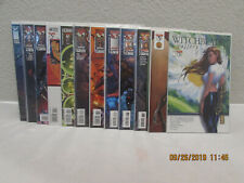 Witchblade ~ Lot of 12 comics ~ poly bagged with backer board
