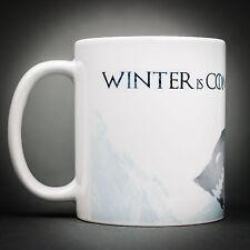 Game Of Thrones - Mug Tasse Cafe - 325 Ml - Winter is coming Stark Série TV.