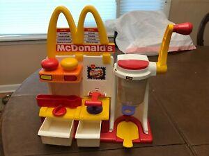 Vintage McDonald's Happy Meal Magic Hamburger Snack Maker 10335 Mattel 1993