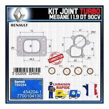 Joints Turbo 1.9 dT 90 Cv Renault Megane 7700104130 Garrett TB0294 454204-1