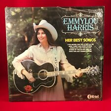 EMMYLOU HARRIS Her Best Songs UK Vinyl LP EXCELLENT CONDITION Greatest Hits of