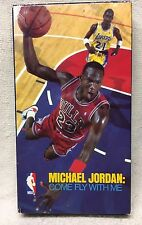 VHS - Michael Jordan - Come Fly With Me - 1989 CBS Fox Sports Video - Rare OOP