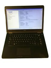 Dell Latitude e5470 14in. i5-6200u 256GB SSD 8GB Ram