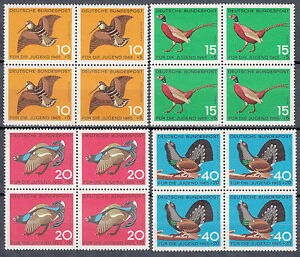 BRD 1965 Mi. Nr. 464-467 4er Block Postfrisch TOP!!! (26897)