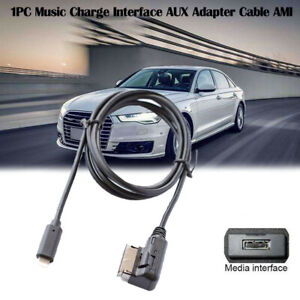 AMI MDI MMI Adapter Charge Audio Cable for iPod iPhone 7 8 X 11 for Audi Q7 A3