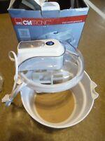 CLATRONIC Eismaschine ICM 3581 weiß Eiscreme Sorbet Maker