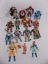 THUNDERCATS VINTAGE LJN 17 ACTION FIGURE LOT LION-O MUMM-RA HAMMERHAND & MORE