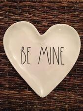 Rae Dunn Magenta BE MINE Heart Shaped Plate Valentine's