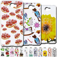 Painted Soft TPU Silicone Case Cover Back Clear Fashion Skin For Huawei Phones