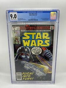 Star Wars #23 CGC 9.0 1979 Marvel Comics / Awesome Darth Vader cover.