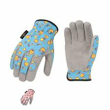 New Listingvgo 2 Pairs Age 4 5 Kids Soft Synthetic Leather Outdoor Gloves Light Duty Wor