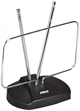 RCA ANT111Z HDTV and FM Antenna, Rabbit Ears Design - 1080i HDTV broadcasts Show