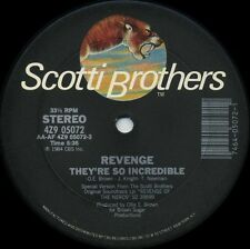 """REVENGE They're So Incredible (1984 U.S. Promo 12inch) * """"Revenge of the Nerds"""""""