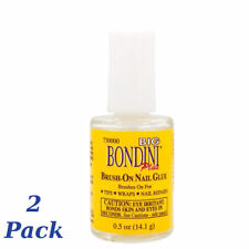 2 Pack Big Bondini Brush-On Nail Glue .5 Oz.