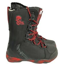 New listing New FUL Snowboards Boots 2011 Mens Size 8.5 Black Red Skull Intuition Liner NIB