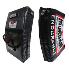MORGAN ENDURANCE PRO HIT STRIKE SHIELD HEAVY DUTY LARGE CURVED BOXING MMA  KICK