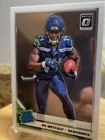 2019 DONRUSS OPTIC DK Metcalf  RATED ROOKIE RC #163 SEAHAWKS!!! Graders!!