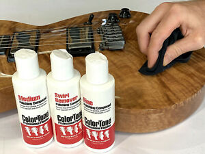ColorTone Polishing Compounds - For Guitar/Lutheir