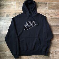 Vintage Nike Air Gray Tag 2XL XXL Hooded Sweatshirt Swoosh 1990s Jordan Hoodie