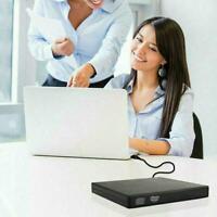 USB 3.0 External DVD RW Drive CD DVD Rewriter Burner Reader PC For Laptop L5V3