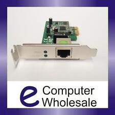 Gigabit 10/100/1000 Network Ethernet Card PCIe with LP Low Profile NIC Brand New