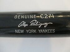 Alex Rodriguez Louisville Sugger Genuine C271 New York Yankees Baseball Bat