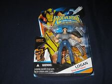 "WOLVERINE & THE X-MEN LOGAN 3.75"" 2008 HASBRO ACTION FIGURE"