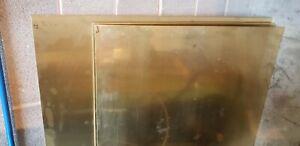 0.9mm Brass sheet plate guillotine cut model making various sizes