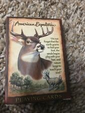 American Expedition Whitetail Deer Playing Cards 1 Deck Poker
