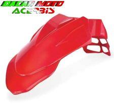 Guardabarros Delantero Universal Acerbis Motard Supermoto Rojo