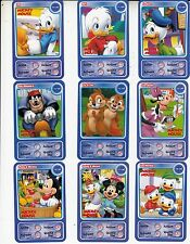 "LOT DE 9 CARTES DISNEY AUCHAN ""MICKEY MOUSE""....."