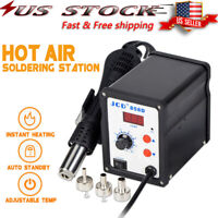 858D 3in1 SMD Soldering Rework Station Iron Hot Air Desoldering Repair 110V SMD