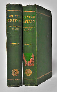 Greater Britain; A Record of Travel in English-Speaking Countries 2 vols 1869.