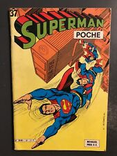 SUPERMAN POCHE (Sagedition) - T37 : septembre 1980