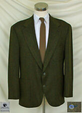 (44L) Casual Style in Black & Brown, Unstructured Tweed Weave Jacket