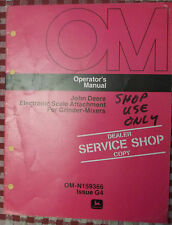 John Deere Operator's Manual for 965 Wagon Om-W21354 Hay Running Gear Owners