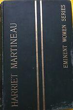 Harriet Martineau Eminent Women Series by Mrs Fenwick Miller ex-library HB 1889