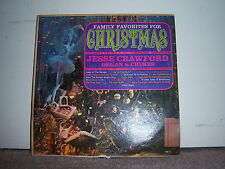 """Premiere Albums XM-12 Jesse Crawford - Family Favorites for Christmas 1950's 12"""""""