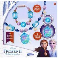 John Adams 10799 Disney Frozen II My Light-Up Jewellery
