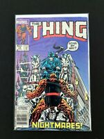 THE THING #19 MARVEL COMICS 1985 VF- NEWSSTAND EDITION RARE!