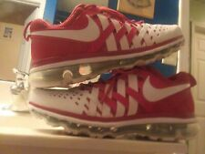 Mens Air Max Fingertrap Running Shoes Size 10 Red And White