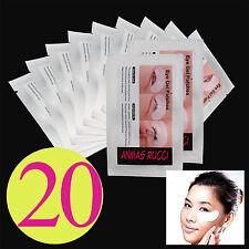 20 Pairs Under Eye Patch Lint Eyelash Extension Tool Medical Tape