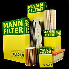 MANN FILTER SET - VAG Inspektionskit - 2.0 TDI  AUDI A6(4G2/4G5/4GC/4GD) ab 2011